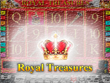 Автомат Royal Treasures в Вулкан Делюкс